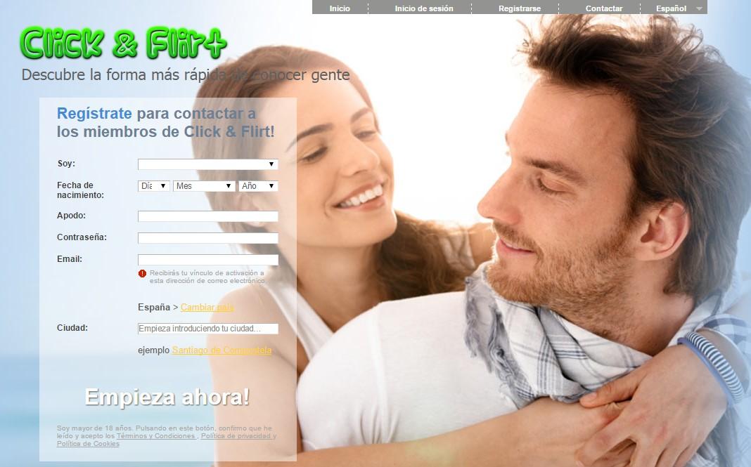 click flirt